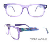 New Popular Colorful Acetate Lady Optical Frame