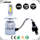 LED DRL Auto Parts with 55W HID Xenon Bulb and 6000K H13 LED Driving Light