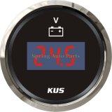 """LED Display 2"""" 52mm Digital Voltmeter Voltage Meter 12V 24V with Backlight"""