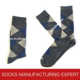 Men′s Long Argyle Patterns Sock