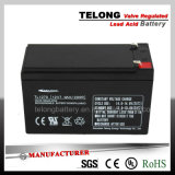 12V7ah Rechargeable Lead-Acid Battery for Security System