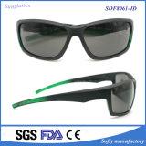 Hot Tac Lens Promotion Style Black Fashion Sunglasses with UV400 Polarized