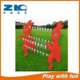 China Supplier Red Rabbit Kids Plastic Towel Shelf for Sale