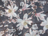 Polyester Chiffon Velvet with Printing