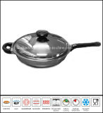 Stainless Steel Skew Frying Pan