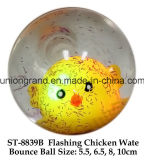 Flashing Chicken Wate Bounce Ball