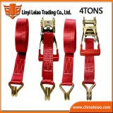 Blister Packaging 4 Tons Polyester Ratchet Tie Down