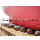 Rubber Balloon Airbag for Ship Landing and Launching