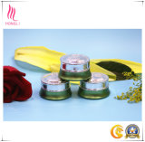 Green Silk Screen Jars Aluminium Cosmetics Face Wash Packaging