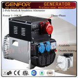 Italy Technology Brushless Alternator with Capacitor 1-8kVA