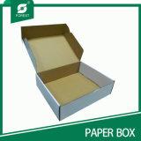 White Box with Black Logo Printing Wholesale