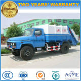 6 Wheels High Quality 9 T to 10 T Garbage Compactor and Dump Truck for Sale
