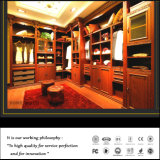 Custom Euro Style High Quality Solid Wood Wardrobe