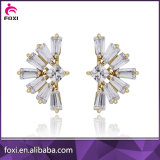 Wholesale Brazil New Design Jewelry for Women Zirconia Stud Earrings