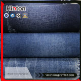 Mercerized Dark Blue Color 21s Stretch Denim Fabric