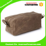 Custom Men Felt Blanket Fabric Wash Travel Toiletry Toilet Cosmetic Pouch Bag