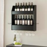 Vintage Solid Wood Wall Mounted Storage Bottle Display Wine Rack
