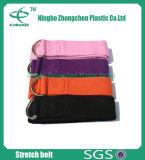 Durable Cotton Yoga Straps Cinch Buckle Yoga Stretch Belt