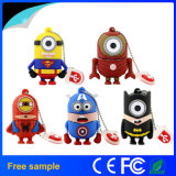 Wholesale Popular Cute Cartoon Minion Superhero USB Pendrive