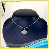 2017 New Style Stainless Steel Lucky Flower Vogue Women Pendant