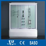 170X85cm White Colour Luxury Shower Cabin