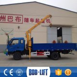 Telescopic Truck with Crane 3 Ton for Hot Sale