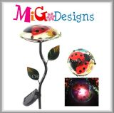 Good Discount Metal Garden Stake Mushroom Shaped Solar Light