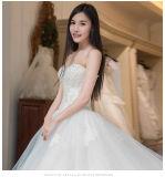 2017 Strapless Bridal Wedding Dresses Wm1702
