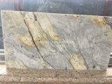 Polished Ariston Gold Granite Slab for Countertop