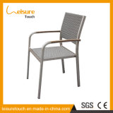 Garden Leisure Restaurant Furniture Thailand Dining Room Chairs Outdoor Cafe Aluminum Rattan Chair