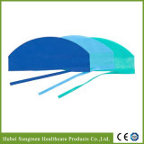Machine Made Surgeon Cap, Surgical Cap with Ties