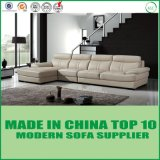 Living Room Furniture Modern Sofa with Real Leather