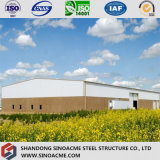 Heavy Steel Construction / Steel Building for Industrial Plant