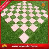 Interlocking Removable Artificial Grass Tile for Garden DIY