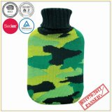 High Quality Hot Water Bottle with Knitted Cover