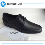 Black Leather Office Shoes for Men