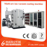 Stainless Steel Plate Big Size Multi Arc Ion PVD Vacuum Coating Machine for Sanitary Ware colorful Decorative Coating