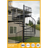 Outdor Carbon Spiral Stairs for safety Cheap