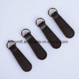 Custom H-Quality Garment Leather Zipper Pull/Zipper Puller