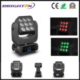 Small Moving Head Stage Lights Fixture Wash LED Lighting 9*10W