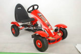 Children's Pedal Go Kart, Inflatable Wheels Go Kart, Toy Car