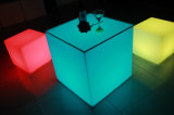 Wholesale LED Cube Chair Shinning Bar Stools for Bar House