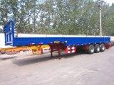 3 Axles 40 Feet Ordinary Semi Trailer with Side Walls/Bulk Cargo Truck Trailers