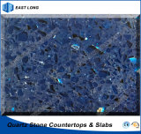 Quartz Artificial Stone for Building Material/ Solid Surface with SGS Report (single colors)