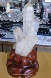 Crystal Cluster Quartz Crystal Wand Point