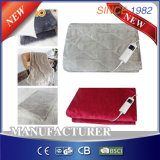5-Setting Controller for EU Market Comfy Flannel Heated Throw Blanket