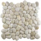 Garden Paving White Mosaic Stone