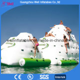 Inflatable Iceberg Slide Water Games Inflatable Rock Climbing Wall Island