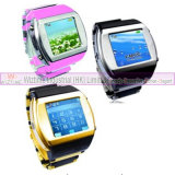GPRS Tri-Band Cell Phone Mobile Plastic Watch 1.5 Inch Touch Screen (WTWS30X)