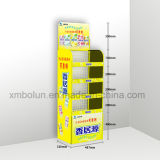 China Supplier Best Selling Wire Supermarket Display Stand for Snack